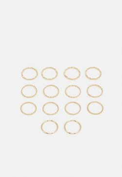 Pieces - PCJENSINE 14 PACK - Ring - gold-colored