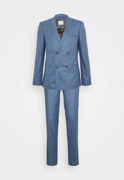 Viggo - GROBY DOUBLE BREASTED SUIT - Kostuum - light blue