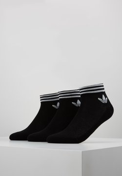 adidas Originals - 3 PACK - Socken - black/white