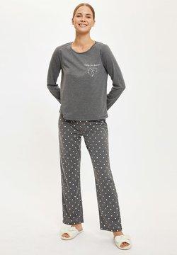 DeFacto - SET - Pyjama - anthracite