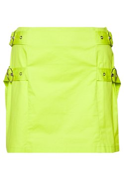 The Ragged Priest - SKIRT SIDE BUCKLES - Minihame - lime