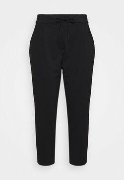 Vero Moda Curve - VMEVA LOOSE STRING PANTS - Jogginghose - black