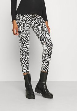 MAMALICIOUS - MLFLAME PANTS BUMPBAND - Pantalones - white