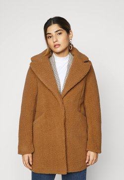 Vero Moda Petite - VMDONNA TEDDY - Winterjacke - tobacco brown