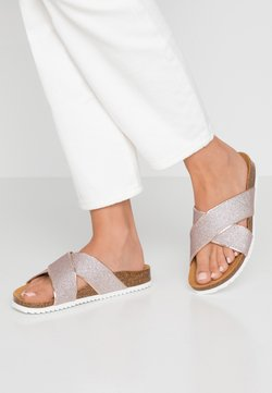 Office - HOXTON  - Chaussons - rose gold