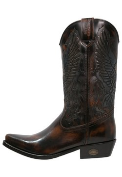 Kentucky's Western - Cowboy-/Bikerboot - marron