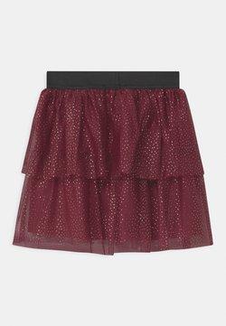Name it - NKFRITTY  - Spódnica mini - cabernet
