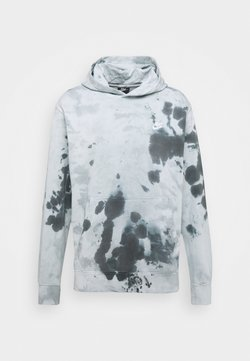 Nike Sportswear - HOODIE DYE - Sweat à capuche - smoke grey/white