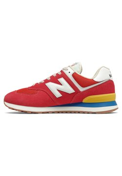 New Balance - 574 - Matalavartiset tennarit - team red