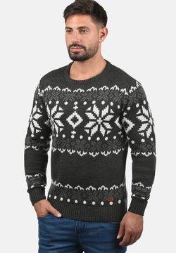Solid - NORWIG - Pullover - dark grey