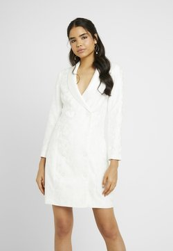 YAS - YASBLAIR BLAZER DRESS - Korte jurk - star white