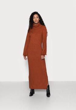Glamorous Petite - LADIES DRESS - Strickkleid - rust