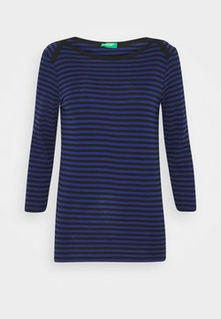 Benetton - Langarmshirt - black/blue