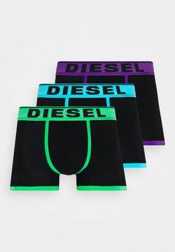 Diesel - UMBX-DAMIENTHREEPACK-P BOXER-SHORTS 3 PACK - Shorty - black