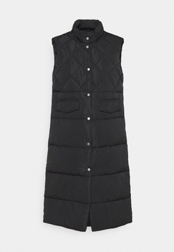ONLY - ONLSTACY QUILTED WAISTCOAT - Smanicato - black