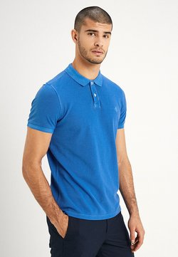 Marc O'Polo - SHORT SLEEVE RIB DETAILS - Poloshirt - waterfall
