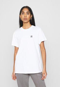 adidas Originals - LOOSE TEE - Printtipaita - white