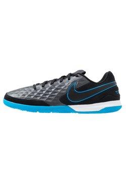 Nike Performance - TIEMPO LEGEND 8 ACADEMY IC - Halówki - black/blue hero
