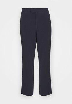 Anna Field - High Waist Trousers - Kangashousut - dark blue