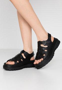 Skechers Sport - JAMMERS - Sandalias con plataforma - black