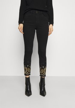Desigual - DENIM_BELGICA - Jeans Skinny - black