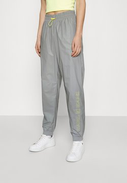 Karl Kani - RETRO SHINY TRACKPANTS - Jogginghose - light grey