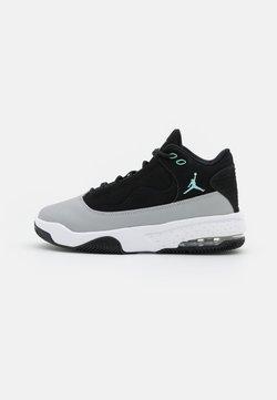 Jordan - MAX AURA 2 UNISEX - Basketballschuh - black/tropical twist/light smoke grey/white