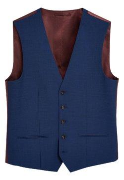 Next - SIGNATURE PLAIN SUIT: WAISTCOAT - Gilet elegante - royal blue