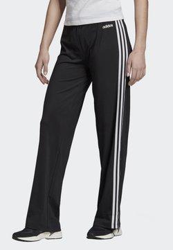 adidas Performance - DESIGNED 2 MOVE 3-STRIPES JOGGERS - Jogginghose - black