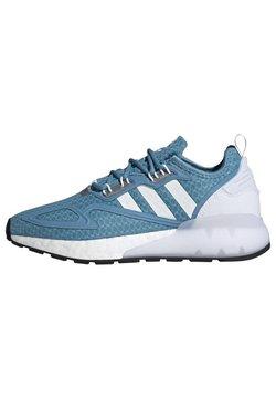 adidas Originals - ZX 2K BOOST  - Sneaker low - hazy blue/ftwr white/grey three