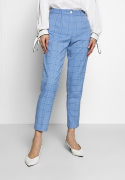 mine to five TOM TAILOR - MODERN GLENCHECK - Chinot - blue