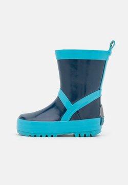 Playshoes - UNISEX - Gummistövlar - marine/hellblau