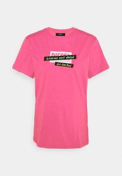 Diesel - T-DARIA-R2 - T-Shirt print - pink