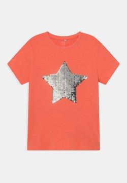 Name it - NKFHAPASTAR BOX - T-Shirt print - persimmon
