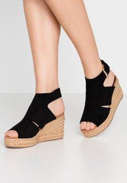 River Island - Korolliset sandaalit - black