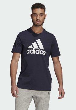 adidas Performance - Camiseta estampada - dark blue