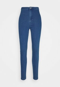 Missguided Tall - OUTLAW JEGGING - Jeggings - deep blue