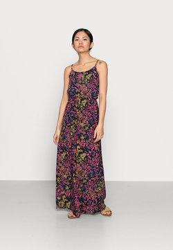 ONLY Petite - ONLNOVA LIFE DRESS - Maxi dress - dark blue/multi-coloured