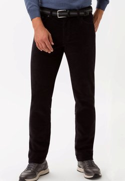 BRAX - STYLE COOPER FANCY - Broek - black