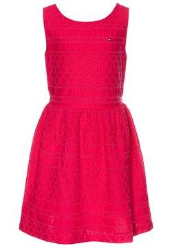 Tommy Hilfiger - BRODERIE ANGLAISE DRESS  - Vestido de cóctel - pink