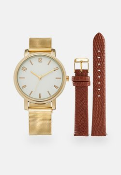 Anna Field - SET - Montre - cognac/gold-coloured