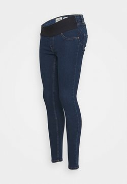 New Look Maternity - JACKSON RAIN RINSE JEGGING - Vaqueros slim fit - indigo