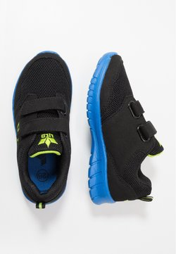 LICO - NANDO - Sneakers laag - schwarz/blau/lemon