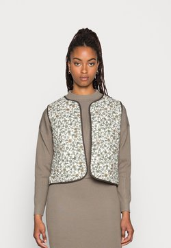 b.young - DOPHIN VEST - Weste - seagrass mix