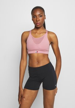 Tommy Sport - LOW SUPPORT BRA - Sport BH - purple