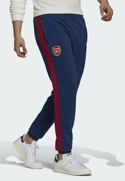 adidas Performance - Spodnie treningowe - blue