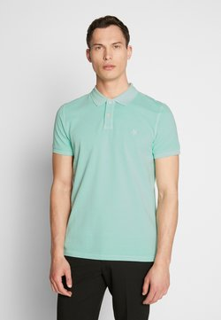 Marc O'Polo - SHORT SLEEVE BUTTON PLACKET - Poloshirt - lichen