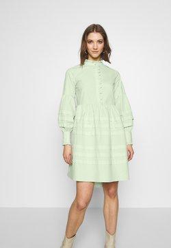 YAS - YASNELLIE DRESS  - Vestido informal - sea foam