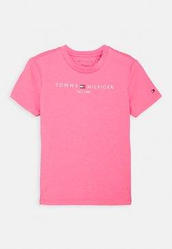Tommy Hilfiger - BABY ESSENTIAL TEE UNISEX - Camiseta estampada - exotic pink
