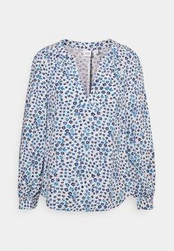 GAP Petite - ZEN NECK - Langarmshirt - daisy floral blue